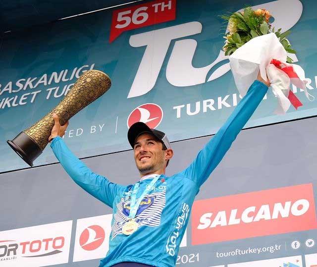 56. Cumhurbaşkanlığı Bisiklet Turu sona erdi